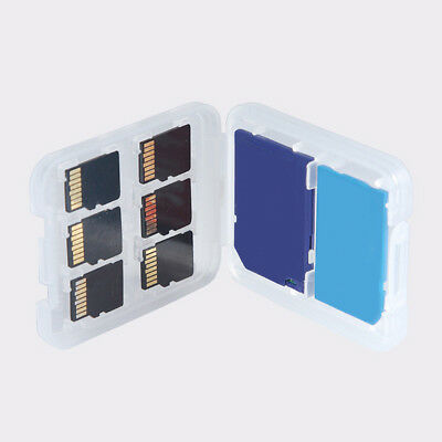 New 1Pc Slot Micro SD TF SDHC MSPD Memory Card Protecter Box Storage Case Holder