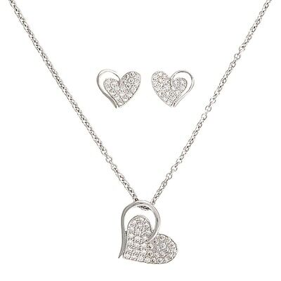 Montana Necklace Heart Print Horse And Equestrian