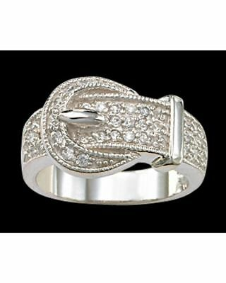 Montana Bling Buckle Ring Size 7 Horse And Equestrian