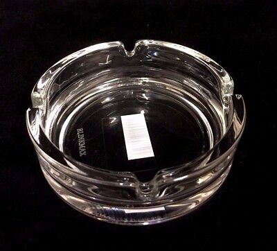 Round  Clear Glass Ashtray Butt Ash Tray 10.5 cm New