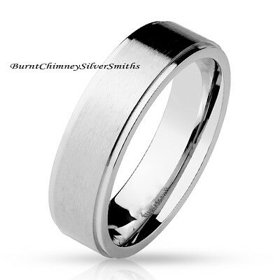 Custom Engraved Stainless Steel Band For Men and Women Promise Ring BCSS-M0039