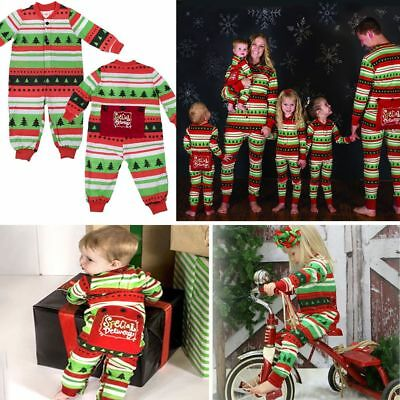 New Kids Adult Family Matching Christmas Pajamas Sleepwear Nightwear Sets