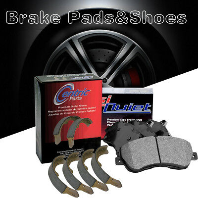 Centric Front /& Rear Metallic Brake Pads /& Brake shoes 2SET For Ford Escape