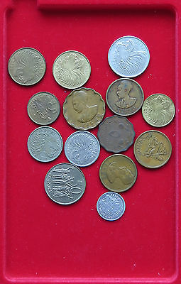 COLLECTION LOT ETHIOPIA 14pc 66g  #xxh 054