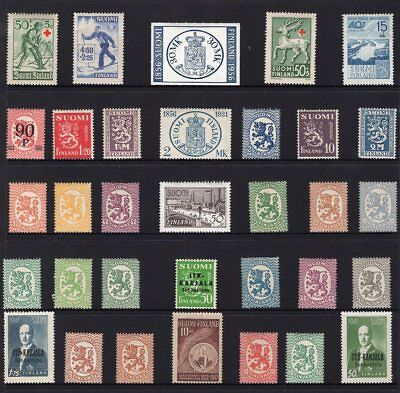 Finland early mint group see scans x 2