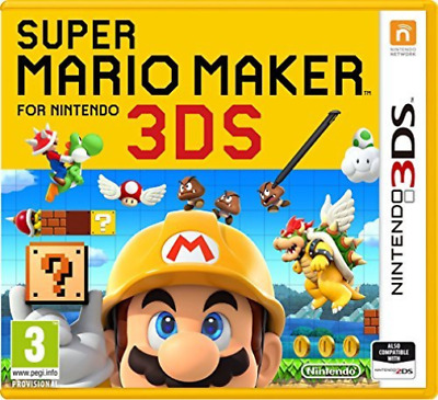 3DS-Super Mario Maker /3DS  GAME NEW