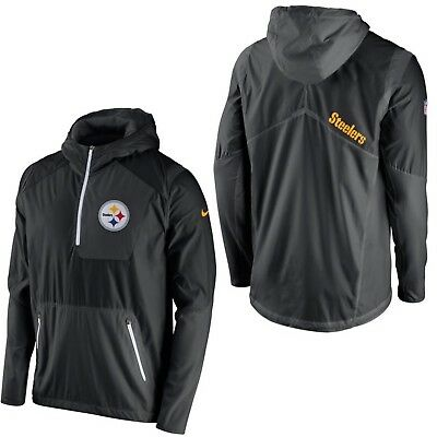 a44125a3c07c ... coupon code for pittsburgh steelers nfl nike vapor speed fly rush 1 2  zip l lightweight
