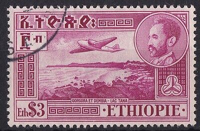 Ethiopia: Air Post Stamps: C31, $3 Lake Tana, very fine used
