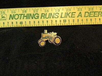 Large John Deere Two-Cylinder 730 HIgh Crop Tractor Hat/Lapel Pin
