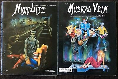 Nightlife The Role Playing Game Of Urban Horror Plus In The Musical View RPG