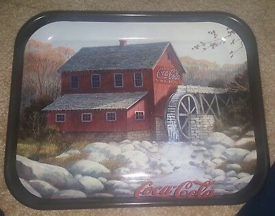 Vintage Collectible The Coca Cola Mill Tray 13 L x 10.5 W