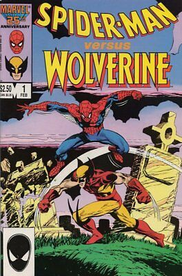Spider-Man vs Wolverine #   1 Near Mint (NM) Marvel Comics MODERN AGE