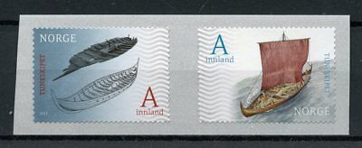 Norway 2017 MNH Tune Viking Ship Finds 150th Anniv 2v S/A Set Ships Boats Stamps