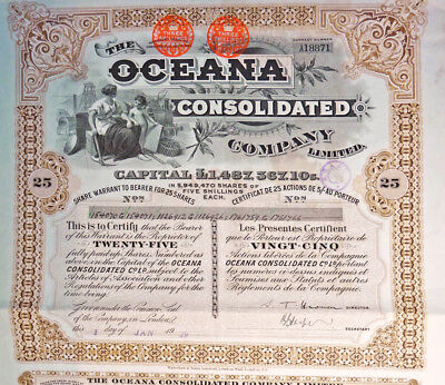 The Oceana Consolidated Company, 1929