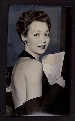 1947 Press Photograph Celebrity Actress Jane Wyman *5383