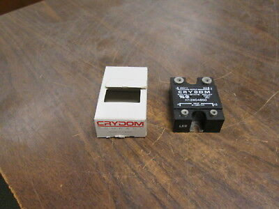 Crydom Solid State Relay H12WD4850 Input: 4-32VDC Output: 480VAC 50A New Surplus