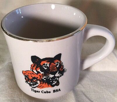 Boy Scout BSA Tiger Cubs 10 oz Coffee Mug Cub Scouts Scouting Camping