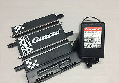 Carrera GO Connector Set Throttle Control + Rail Terminal Bus 61530 61531 NEW