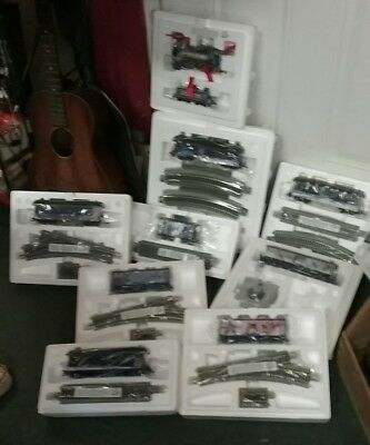 New in Boxes 10 BACHMANN Hawthorne WOLF MOONLIGHT EXPRESS Train Set HO Scale COA