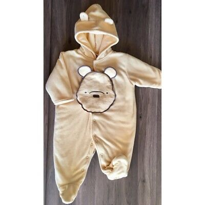 Disney Winnie the Pooh Baby Hooded Bunting/One Piece thick and warm for winter!