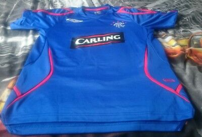 Glasgow Rangers Umbro Carling Training top Mens Small S