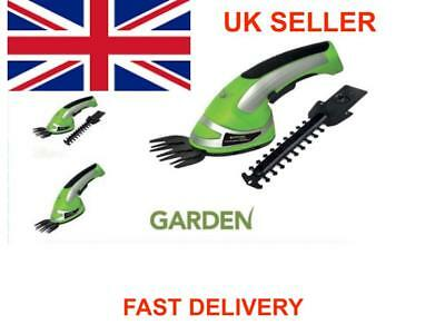 2-In-1-Garden Cordless Grass Shear amp Hedge Trimmer Hand-Held Shear 3-6V