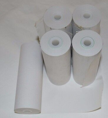 """5 Rolls of Thermal Receipt Paper Fits Datamax O'Neil MF4T  4.4"""" 2.25"""" 72' POS"""