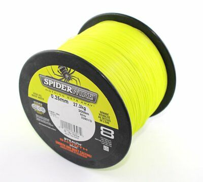 (0,079 €/m) SPIDERWIRE Stealth Smooth 8 Yellow - je 25m, geflochtene Angelschnur