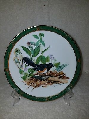 Towhee-The Songbirds Of Roger Tury Peterson Collection & Danbury Mint.