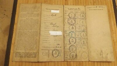 Vintage 1925 Ariel Motorcycle collectable buff log book Rotherham area