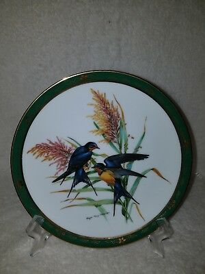 Barn Swallows-The Songbirds Of Roger Tury Peterson Collection & Danbury Mint.