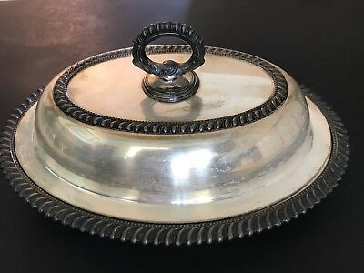 Antique/Vintage Silverplate Covered Dish