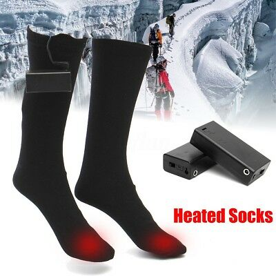 Warmawear Heated Socks Battery Powered Electric Winter Heat Thermal Size M L Hot