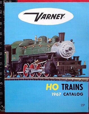 1967 VARNEY HO Trains CATALOG Miami FLA COLOR Buy It Now! 8 PAGES