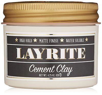 Layrite Cement Clay 4.25 oz / 120 g - Brand new