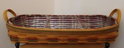 Autumn Reflections Large Harvest Blessings Basket Combo-Signed by 2 Longabergers