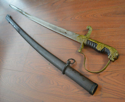 World War 2 (Second War 2) German Officer's Sword Antique Sword