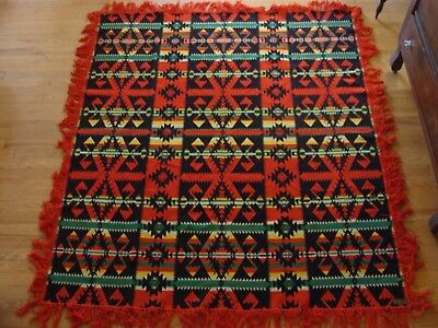Fantastic Native American - Indian Trade Blanket Pendleton Shawl c1904-1914 EXC!