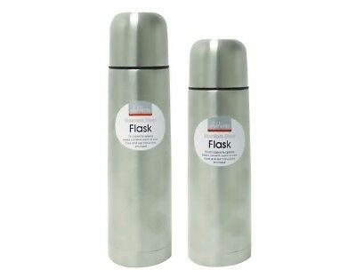 Thermos FLASK 1L 0.5L Bullet Stainless Steel Vacuum Travel Baby Water Hot Cold