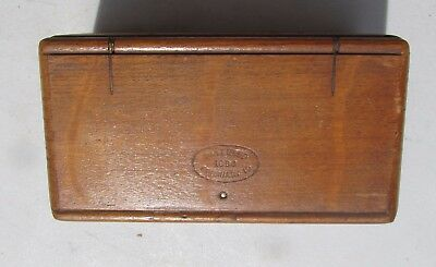 1889 Singer Puzzle Box with accesories