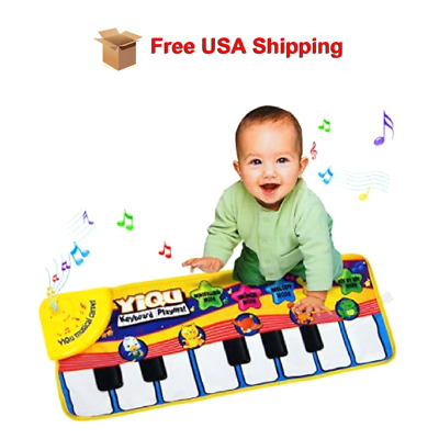 New Smart Piano Baby Toy Stages Learn Laugh Toddler Kids Boys Girls Educational