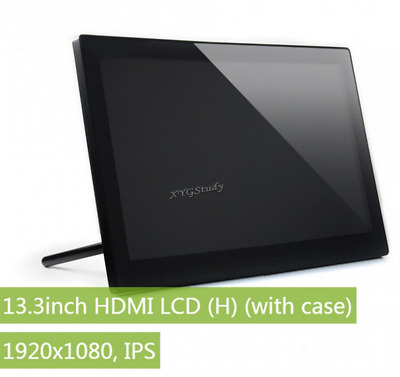 13.3 inch HDMI LCD (H) IPS Capacitive Touch Screen LCD for Raspberry Pi BB Black