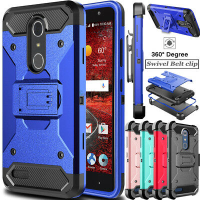buy online bece2 7be6a FOR [ZTE BLADE Spark (Z971)] Phone Case [Brushed Series] Shockproof ...