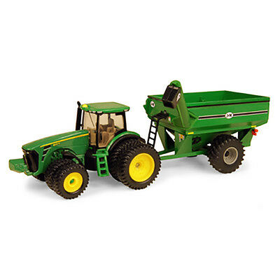 John Deere Toy 1:64 JD 8320R Tractor w/Grain Cart (45236) (PN:  45236)