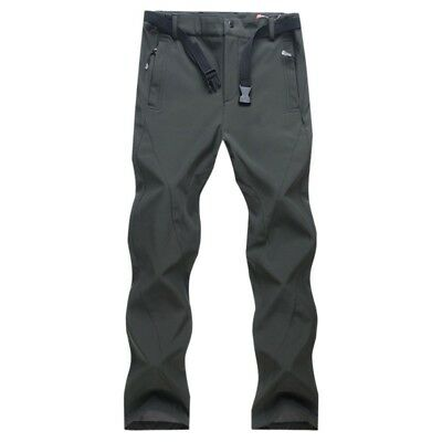 AU Men's Outdoor Camping Hiking Quick Dry Stretch Trousers Sport Pants S-XXXL