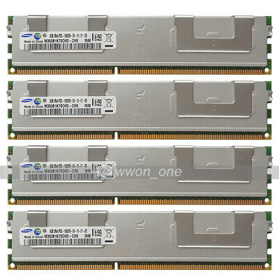 Samsung 32GB 4x8GB 2Rx4 PC3-10600R DDR3-1333MHz 240Pin ECC REG Server Memory RAM