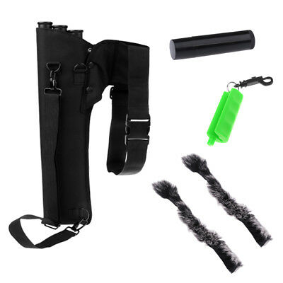 Hunting Back Arrow Quiver+Bow String Wax+Arrow Puller+Bow String Silencer