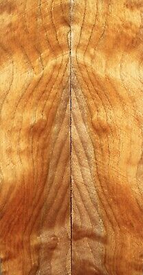 Africa Padauk Wood Bookmatch Scales/Pistol Grips Handle 127mmx76mmx10mm