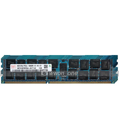 Hynix 32GB KIT 4x8GB 2Rx4 PC3L-10600R DDR3-1333MHz ECC Registered REG SERVER RAM