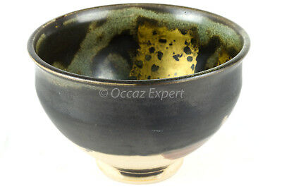 Bol Jean Paul Van Lith En Ceramique Emaillee A Reflets Or Bowl In Ceramic